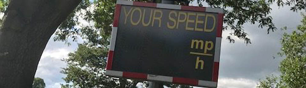 Speed Checker Banner