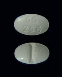 Sandoz GG 256 Alprazolam Pill