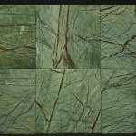 Rain Forest Green Leathered 12x12 Lot 41606 IMG