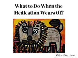 """""""No matter how helpful medication can be, there are going to be times and situations where our kids need our guidance and support, something medication cannot provide."""""""