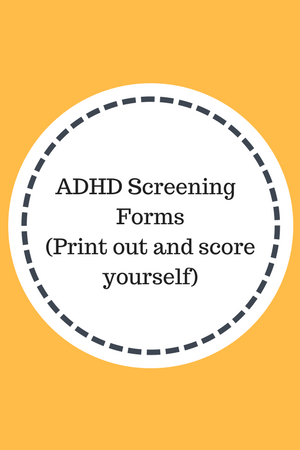 how to pass adhd test