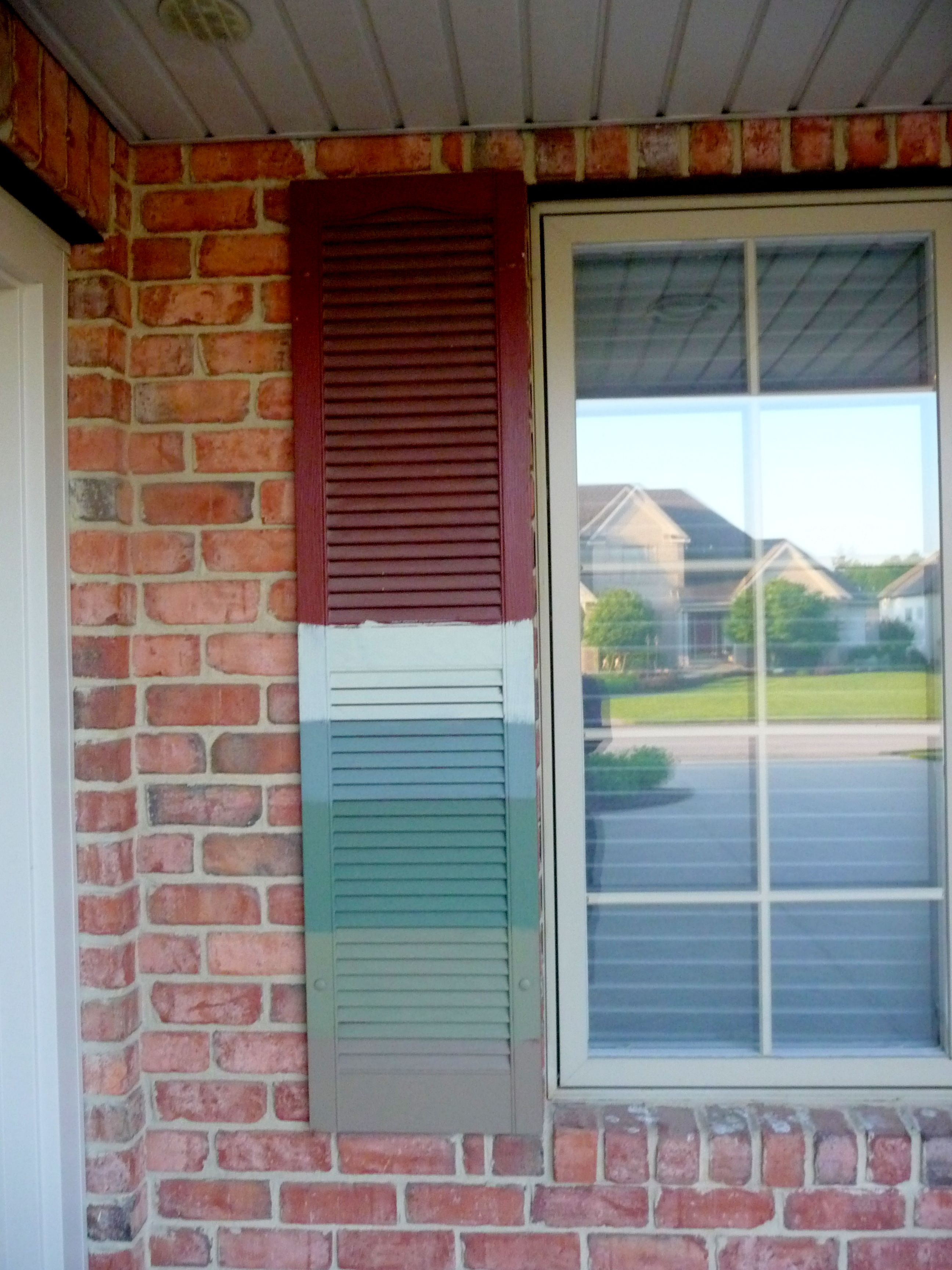 House Shutter Paint Colors Gray House Black Shutters Home