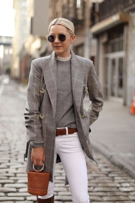 Amazing Fall Outfits Ideas With Blazer06