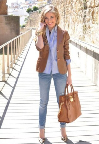 Amazing Fall Outfits Ideas With Blazer39