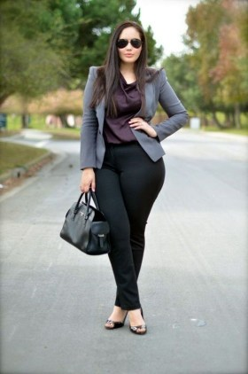 Casual And Comfy Plus Size Fall Outfits Ideas15