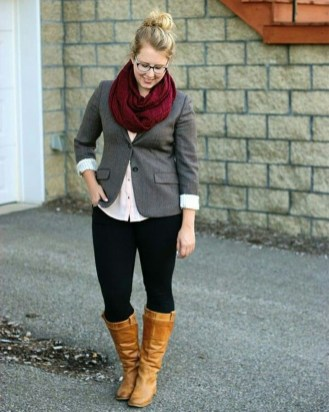 Casual And Comfy Plus Size Fall Outfits Ideas26