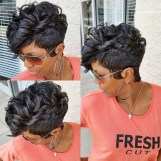 Cool Natural Hairstyles For African American Women13