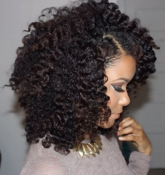Cool Natural Hairstyles For African American Women15