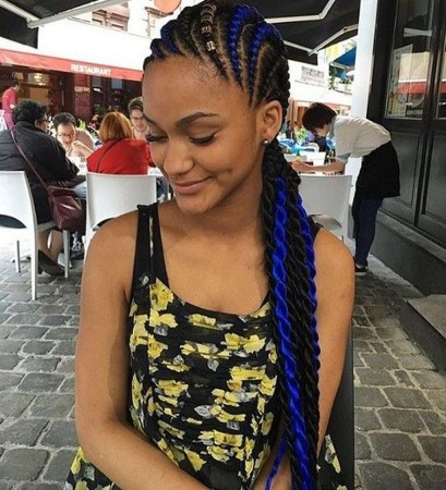 Cool Natural Hairstyles For African American Women30