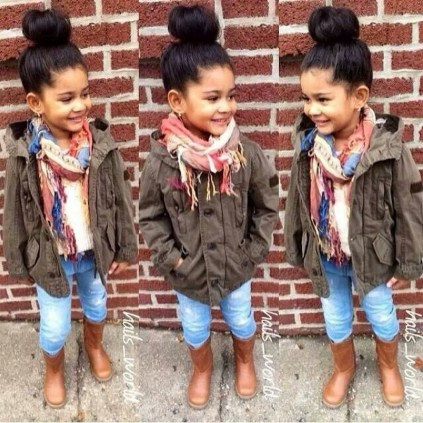 Cute Adorable Fall Outfits For Kids Ideas08