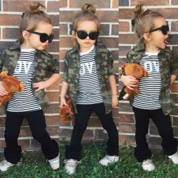 Cute Adorable Fall Outfits For Kids Ideas23