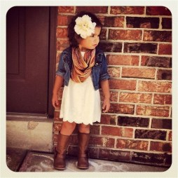 Cute Adorable Fall Outfits For Kids Ideas24