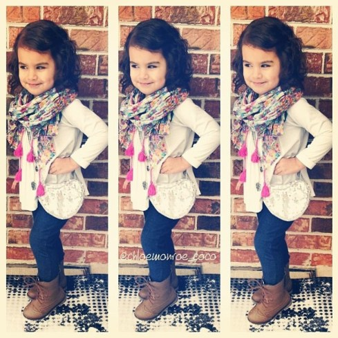 Cute Adorable Fall Outfits For Kids Ideas26