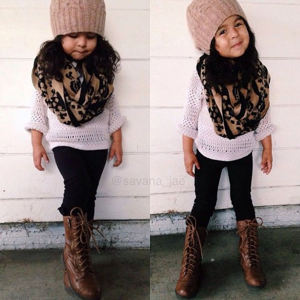 Cute Adorable Fall Outfits For Kids Ideas38