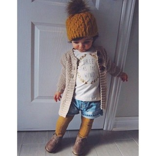 Cute Adorable Fall Outfits For Kids Ideas40