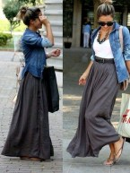 Cute Maxi Skirt Outfits To Impress Everybody04