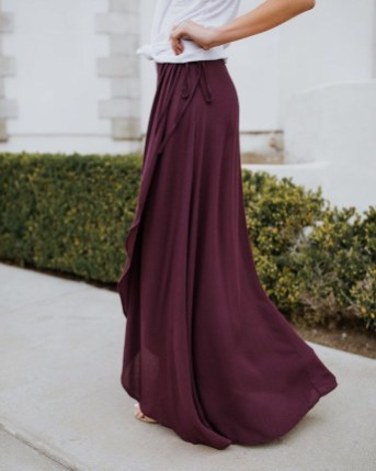 Cute Maxi Skirt Outfits To Impress Everybody08