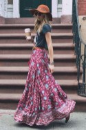 Cute Maxi Skirt Outfits To Impress Everybody11