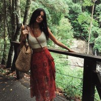 Cute Maxi Skirt Outfits To Impress Everybody19