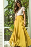 Cute Maxi Skirt Outfits To Impress Everybody31