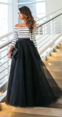 Cute Maxi Skirt Outfits To Impress Everybody38