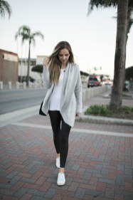Cute Outfits Ideas With Leggings Suitable For Fall01