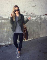 Cute Outfits Ideas With Leggings Suitable For Fall09