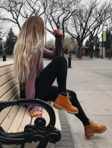 Cute Outfits Ideas With Leggings Suitable For Fall14