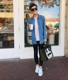 Cute Outfits Ideas With Leggings Suitable For Fall19