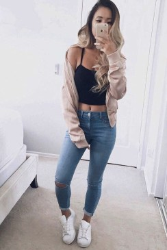 Easy And Cute Summer Outfits Ideas For School16