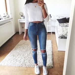 Easy And Cute Summer Outfits Ideas For School21