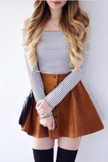 Easy And Cute Summer Outfits Ideas For School37