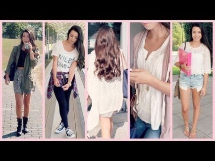 Easy And Cute Summer Outfits Ideas For School42