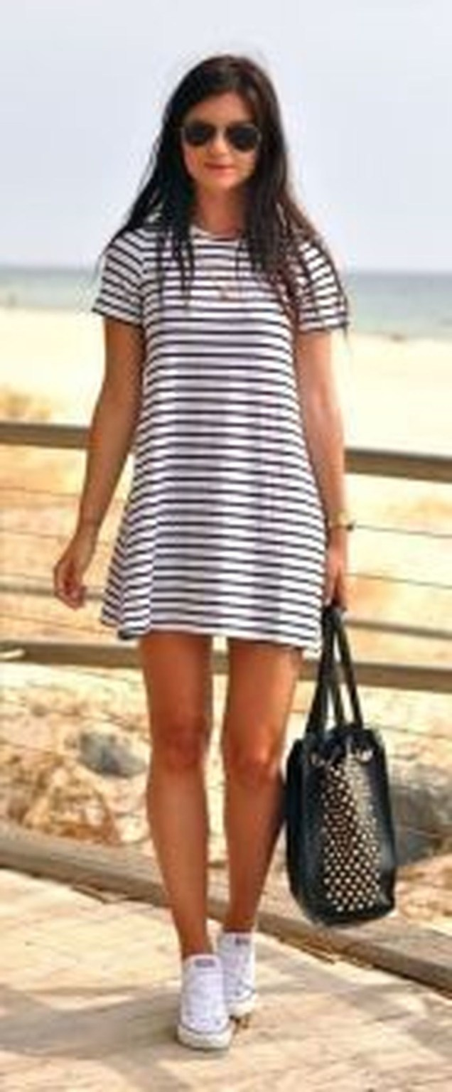Easy And Cute Summer Outfits Ideas For School46