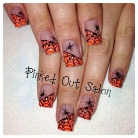 Eye Catching Fall Nails Art Design Inspirations Ideas16