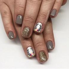 Eye Catching Fall Nails Art Design Inspirations Ideas18