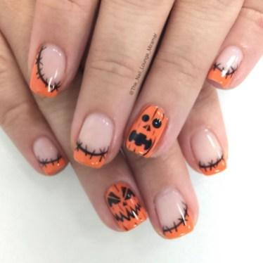 Eye Catching Fall Nails Art Design Inspirations Ideas25