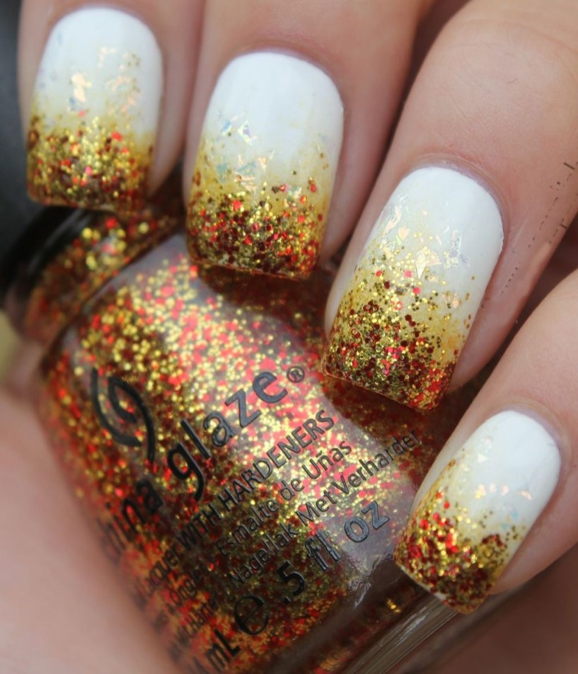 Eye Catching Fall Nails Art Design Inspirations Ideas47