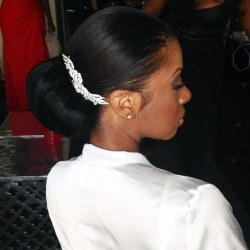Gorgeous Wedding Hairstyles For Black Women10