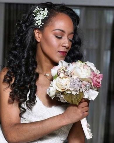 Gorgeous Wedding Hairstyles For Black Women30