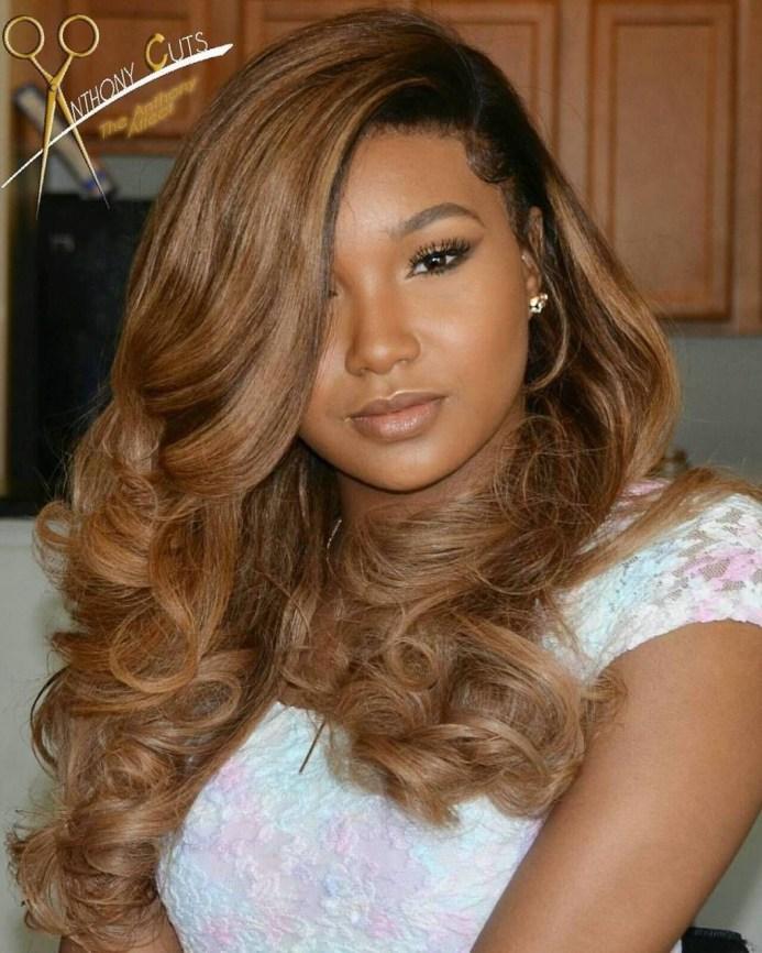 Gorgeous Wedding Hairstyles For Black Women34