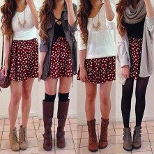 Modest But Classy Skirt Outfits Ideas Suitable For Fall01