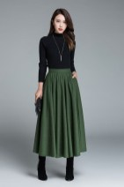 Modest But Classy Skirt Outfits Ideas Suitable For Fall13