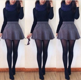Modest But Classy Skirt Outfits Ideas Suitable For Fall40