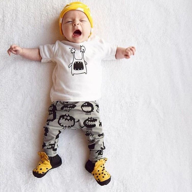 Most Popular Newborn Baby Boy Summer Outfits Ideas05