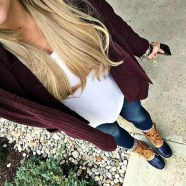 Simple But Nice Fall Outfis Ideas24