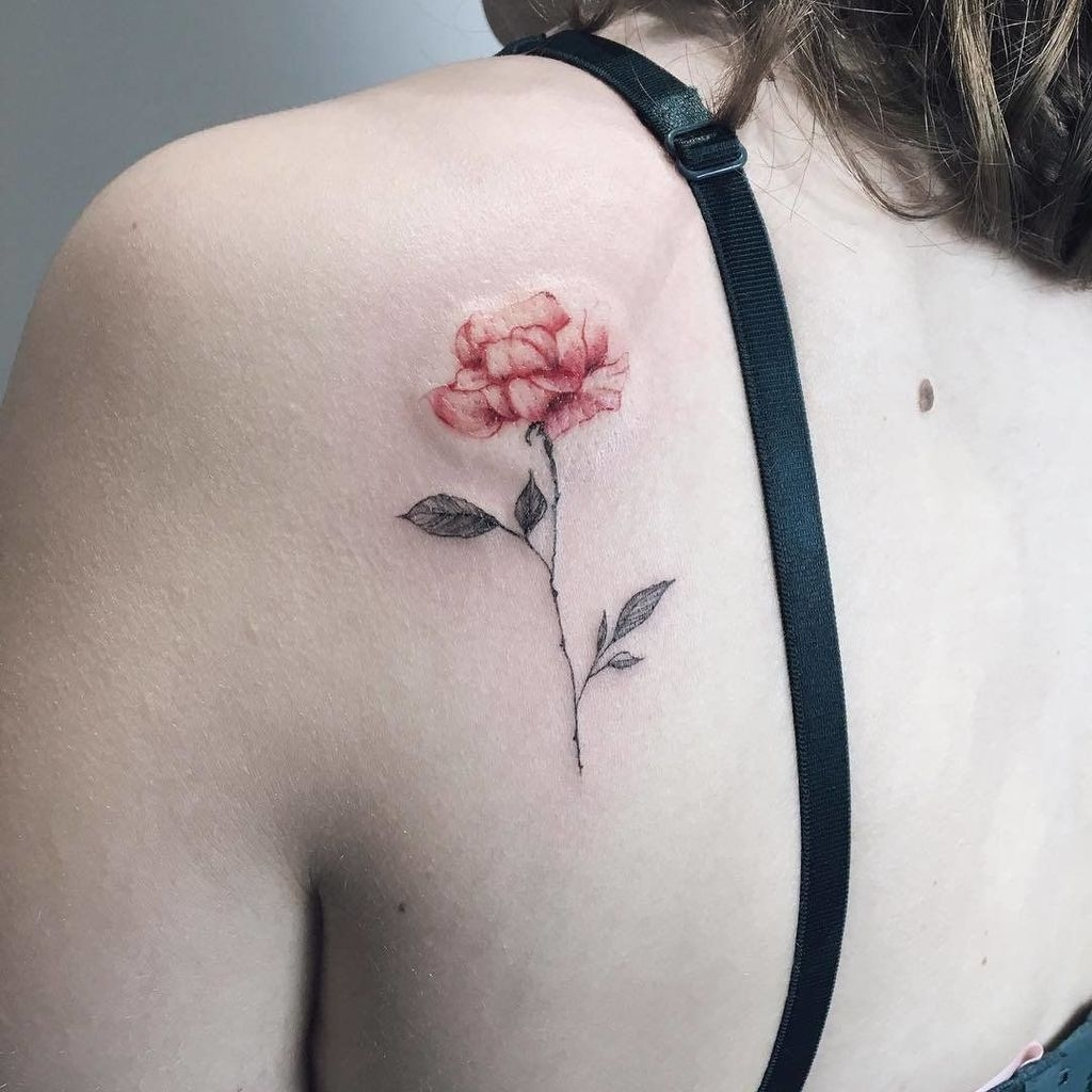 Simple But Meaningful Tattoo Ideas For Women21