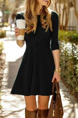 Stylish Work Dresses Inspirations Ideas To Wear This Fall16