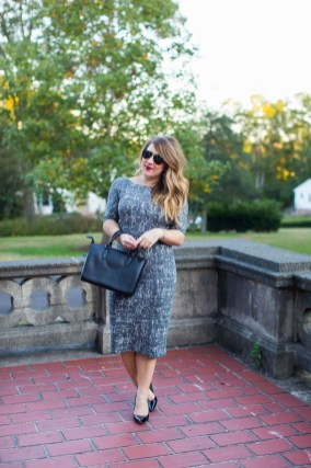 Stylish Work Dresses Inspirations Ideas To Wear This Fall26