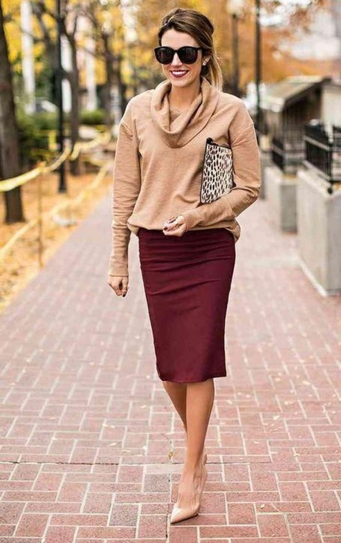 Stylish Work Dresses Inspirations Ideas To Wear This Fall47